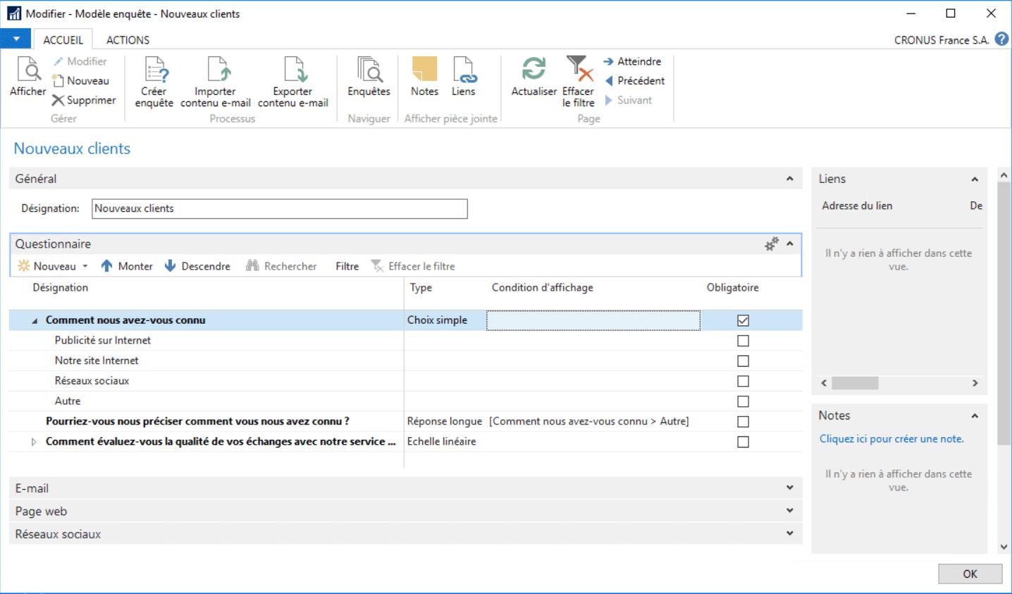 Un outil d 39 enqu te de satisfaction pour sonder vos clients - Office 365 comment ca marche ...